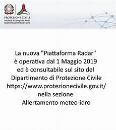 presidenza consiglio dei ministri dipartimento protezione civile radar meteo italia emergenza24