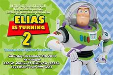 Buzz Lightyear Invitation Invitacion Cumplea 241 Os Ni 241 O