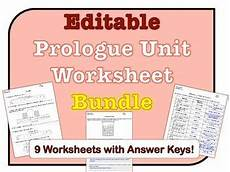 earth science prologue worksheets 13357 prologue worksheets editable bundle earth science worksheets science resources