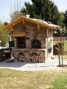 Pizza Steinbackofen Grill Backofen R 228 Ucherofen