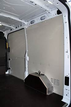 ford transit custom ladefläche from syncro system racking and paneling now available