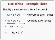 algebra like terms worksheets year 7 8714 combining like terms passy s world of mathematics