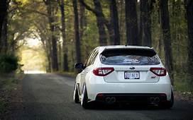Subaru Impreza Wrx Sti Stance White HD