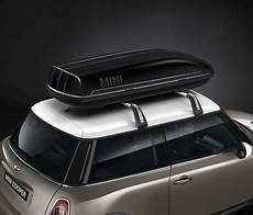 box da tetto auto usato box da tetto nero mini 320 litri pizzala official bmw