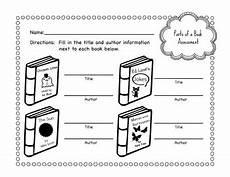 primary school parts of a book worksheet bundle by bookishviolet