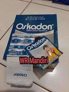 Oskadon Tablet Obat Sakit Kepala 1strip Isi 4 Tablet Di