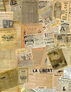 make mine mini old newspaper collage sheets for your projects