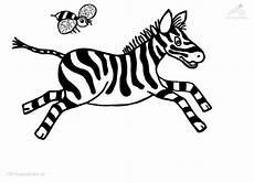 Bilder Zum Ausmalen Zebra Tanzende Zebra