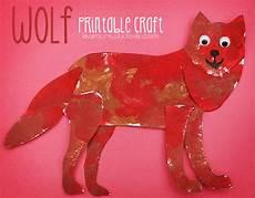 Malvorlagen Wolf Craft Printable Wolf Craft