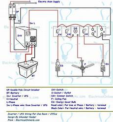 ups inverter wiring diagram for one room office electrical online 4u