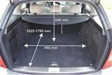Kofferraumvolumen Mercedes C Klasse Kombi 2012