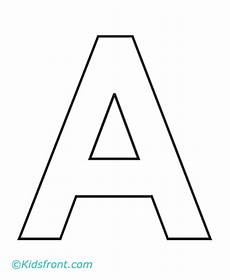 a 1st alphabet coloring pages printable