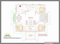 house plans in kerala with 3 bedrooms best of kerala style 3 bedroom single floor house plans