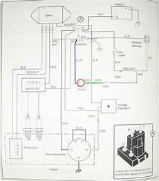 ezgo golf cart wiring diagram i have a ezgo gas 4x4 the ignition turned around and the wires came off need a wire diagram to