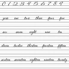 cursive writing numbers worksheets 21105 say bye to cursive writing 2