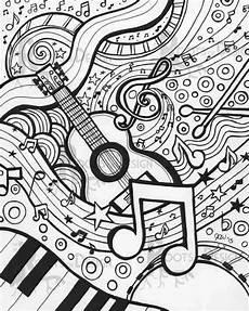 Mandala Malvorlagen Musik Pin Auf Musik