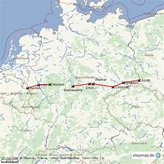 Stepmap Autobahn A4 Landkarte F 252 R Welt