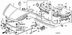 2007 honda accord engine diagram 91568 sja 003 genuine honda clip door weatherstrip
