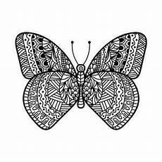 Malvorlage Schmetterling Mandala Schmetterlinge Mandalas Zum Ausdrucken Schmetterling