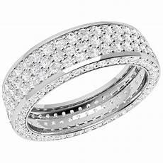 full eternity ring diamond set wedding ring for women in