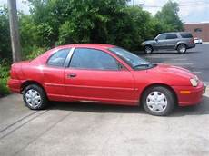 best car repair manuals 1998 plymouth neon electronic throttle control find used 1998 dodge neon sport coupe 2 door 2 0l red manual shift 5 speeds in mount prospect