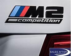 original bmw f87 m2 competition schriftzug schwarz m 2 logo badge label black ebay