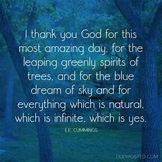 e e amazing day gratitude quote duly posted visual quotes pinterest ee