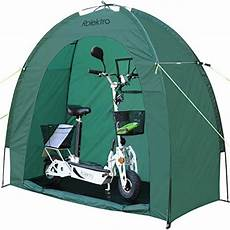 E Scooter Garage by Rolektro Bike Tent Bicycle Shelter 200x80x165cm E Roller