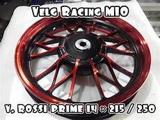 jual velg racing mio v rossi 14 215 250 merah di lapak aksesoris motor jakarta murah