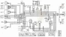 kawasaki wiring diagrams kawasaki klt 200 wiring diagram all about wiring diagrams