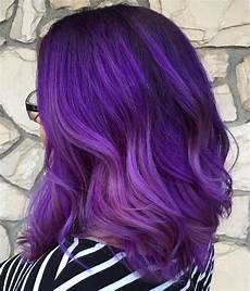 purple ombre hairstyles purple ombre hair ideas plum lilac lavender and violet