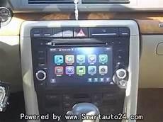 audi a4 dvd player and sat navi gps radio system