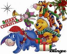 winnie the pooh merry christmas picture 131242191 blingee com
