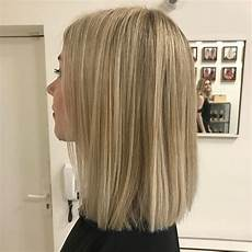 balayage californien blond froid
