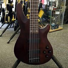 Schecter Omen 5 Series 5 String Bass Walnut