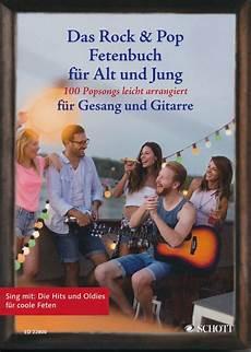 das rock pop fetenbuch f 252 r alt und jung gitarre noten