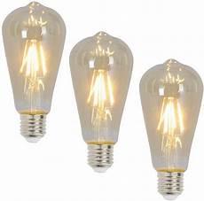e27 leuchtmittel n 228 ve led leuchtmittel 3er set 187 e27 filament