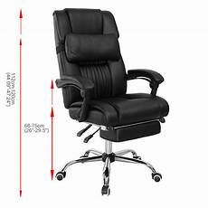 Office Chairs That Recline by Recline Executive Computer Office Chair Pu Leather High
