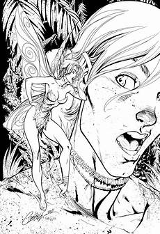 pan and tink inks by j skipper on deviantart