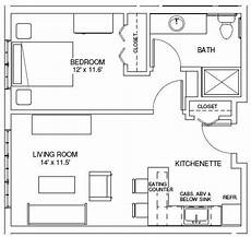 one bedroom house plans one bedroom floorplans find house plans this is