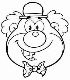 Malvorlagen Clown Gesicht Kostenlos Clown Ausmalen Vorlagen 1ausmalbilder