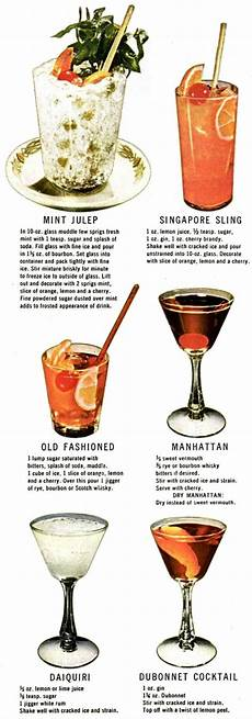 how to make 30 classic cocktails drinks 1946 click