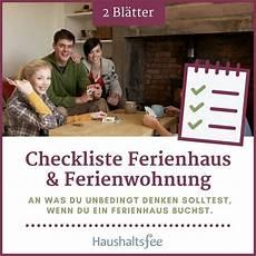 checkliste ein ferienhaus die checkliste ist eine praktische hilfe f 252 r alle die an