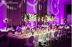 Violet And White Wedding Theme