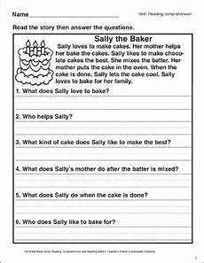 baby chickens reading comprehension printable skills sheets english reading