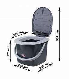 toilette ohne wasser reise wc toilette cingtoilette eimer branq 15 5 l