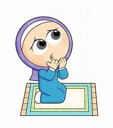 Gambar Kartun Muslimah Solat Azhan Co