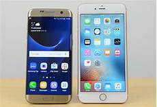 s6 ou s7 galaxy s7 edge pitted against iphone 6s plus in most