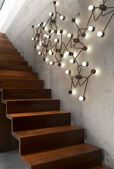 herve langlais constellation stair decor staircase wall decor lighting design