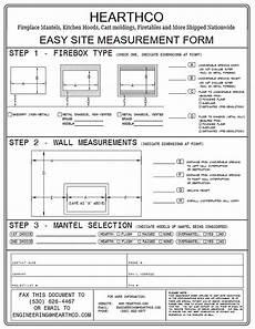 measurement forms hearthco